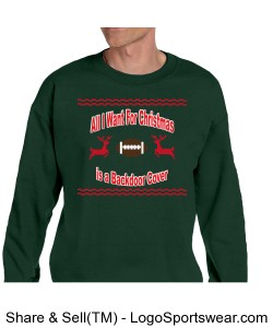 Backdoor Cover Ugly Christmas Sweater Design Zoom